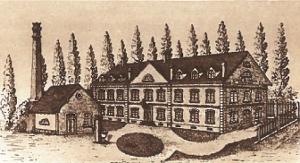 1865 Gravure de l'école (quai des pêcheurs)
