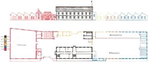 1927 Plan de l'ESFTBM